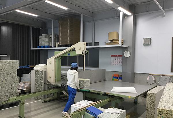 ウレタン 国内生産工場1